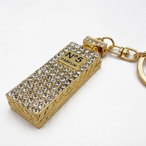 Accessories - STUNNING DIAMOND KEY CHAIN Cubic Zirconia